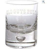 Old Guys Rule Whiskey Tumbler - Colour: GLASS