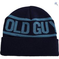 Old Guys Rule Logo Beanie - Colour: Navy Blue