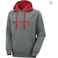 Montane Mens Classic Hoodie - Size: XL - Colour: Shadow