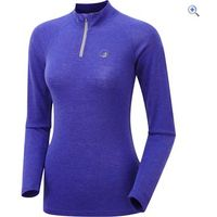 North Ridge Womens Merino Convect LSZ Top - Size: S-M - Colour: SLATE U-VIOLET