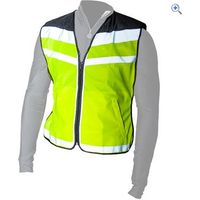 Polite Hi-Vis Air Waistcoat - Size: L - Colour: Yellow