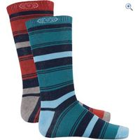 Animal Patrice Mens Socks (2 Pair Pack) - Colour: Assorted