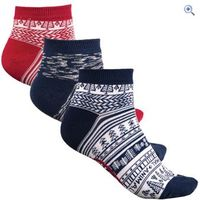 Animal Flo Kaya Womens Socks (3 Pair Pack) - Colour: MIDNIGHT BLUE