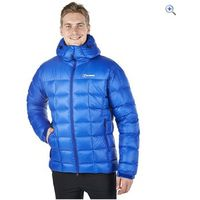 Berghaus Mens Popena Hooded Hydrodown Fusion Jacket - Size: XXL - Colour: INTENSE BLUE