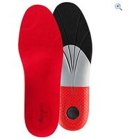 Grangers G30 Stability Insoles - Size: 37 - Colour: Red And Black
