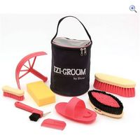 Shires Ezi-Groom Adults Grooming Kit - Colour: Pink
