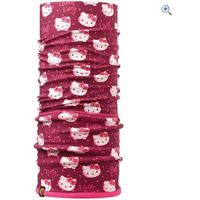 Buff Hello Kitty Childrens Polar Buff (Wink-Dragonfruit) - Colour: DRAGON FRUIT