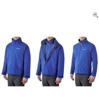 Berghaus RG Alpha 3-in-1 Mens Jacket - Size: XL - Colour: INTENSE BLUE