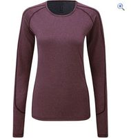 Noble Outfitters Hailey Womens Long Sleeve Crew - Size: XL - Colour: Deep Red