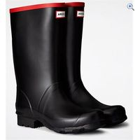 Hunter Argyll Short Wellington Boots - Size: 7 - Colour: Black