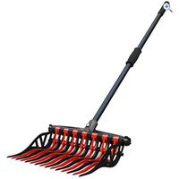 Noble Outfitters Wave Fork - Colour: Black / Red