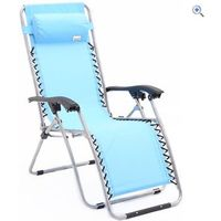 Freedom Trail Sundown Lounger - Colour: Lime