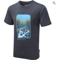 Hi Gear Petrichor Photographic T-Shirt - Size: S - Colour: GUN SMOKE