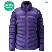 Rab Cirque Womens Down Jacket - Size: 10 - Colour: JUNIPER ZINC