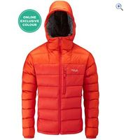Rab Infinity Endurance Mens Hydrophobic Down Jacket - Size: XL - Colour: JUICY KOI ZINC