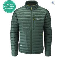 Rab Mens Microlight Jacket - Size: XL - Colour: FIR-LIME