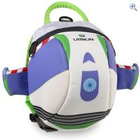 LittleLife Disney Buzz Lightyear Toddler Backpack with Rein - Colour: White