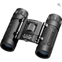 Barska Lucid View Binoculars (8 x 21) - Colour: Black