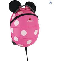LittleLife Big Disney Pink Minnie Mouse Kids Backpack - Colour: Pink