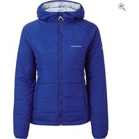 Craghoppers Compresslite Packaway Hooded Womens Insulated Jacket - Size: 10 - Colour: Sapphire