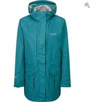 Craghoppers Madigan Long Womens Waterproof Jacket - Size: 12 - Colour: PEACOCK