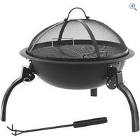 Outwell Cazal Fire Pit - Colour: Black