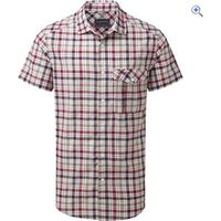 Craghoppers Avery Mens Short-Sleeved Check Shirt - Size: S - Colour: CHESTERFIELD RD