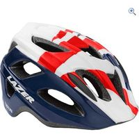 Lazer Nutz Helmet (Youth) - Colour: RED-WHITE-BLUE