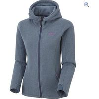 North Ridge Redcar Womens Fleece Hoody - Size: 14 - Colour: MOOD INDIGO