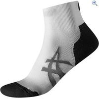 Asics Cushioning Socks (2 Pair Pack) - Size: M - Colour: White And Black