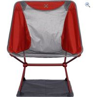 OEX Ultra Lite Camping Chair - Colour: Red And Grey