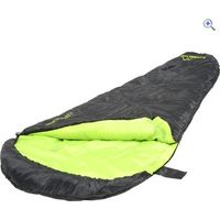 Freedom Trail Sleeper Mummy Sleeping Bag - Colour: Black / Lime