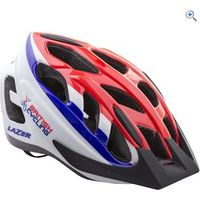 Lazer Cyclone S Helmet - Size: M - Colour: RED-WHITE-BLUE
