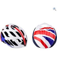 Lazer Blade Cycling Helmet (with British Aeroshell) - Size: S - Colour: RED-WHITE-BLUE