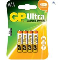 GP Batteries Ultra Alkaline Batteries (12 x AAA)
