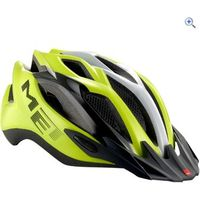 Met Crossover MTB-Road Helmet (52-59cm) - Colour: YELLOW-BLK-WHIT