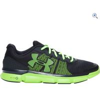 Under Armour UA Micro G Speed Swift Mens Running Shoes - Size: 8.5 - Colour: Charcoal & Green