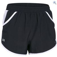 Under Armour Womens UA Fast Forward 1.0 Run Short - Size: L - Colour: BLK-BLK-SILV