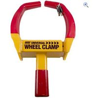 Maypole Universal Wheel Clamp - Colour: YELLOW RED
