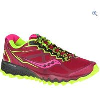 Saucony Peregrine 6 Womens Trail Shoe - Size: 4 - Colour: Red