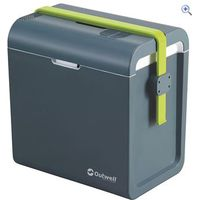 Outwell ECOcool Coolbox 24L (12V/230V) - Colour: Blue Green