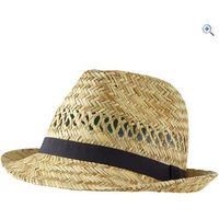 Hi Gear Straw Trilby Hat - Colour: Natural