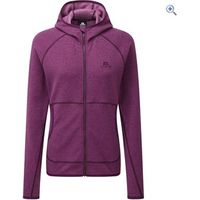 Mountain Equipment Womens Calico Hooded Jacket - Size: 10 - Colour: FOXGLOVE