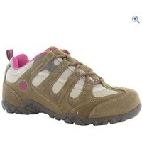 Hi-Tec Quadra Classic Womens Walking Shoes - Size: 8 - Colour: TAUPE-CYCLAMEN