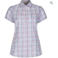 Regatta Jenna S/S Womens Shirt - Size: 10 - Colour: Blueskies