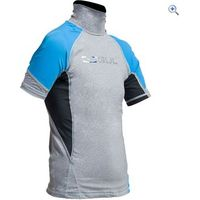 Gul Junior Short Sleeve Rashguard - Size: S - Colour: MARL-CRIP