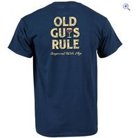Old Guys Rule Improved With Age T-Shirt - Size: L - Colour: BLUE DUSK