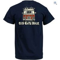 Old Guys Rule Good Vibrations II T-Shirt - Size: XXL - Colour: Navy Blue