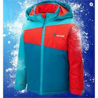 The Edge Nuke Boys Waterproof Ski Jacket - Size: 9-10 - Colour: TEAL-POP-TURQ