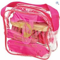 Cottage Craft Junior Horse Grooming Kit - Colour: Pink